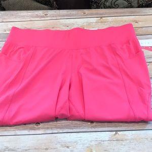 Lane Bryant Pink Livi Workout Capris Size 26/28